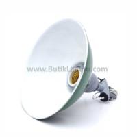 Kap Lampu Gantung WD Outdoor Hijau Mini 7.5 inch E27