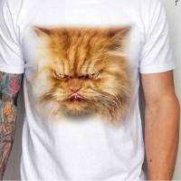 Harga kaos 3d umakuka kucing percian   antitipu.com