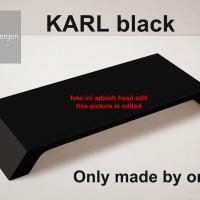 KARL BLACK monitor laptop imac stand alas monitor laptop imac desktop