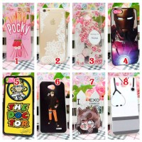 Jual Phone case custom pocky doctor naruto ironman casing smartphone Murah
