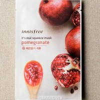 INNISFREE - IT'S REAL SQUEEZE MASK - POMEGRANATE