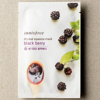 INNISFREE - IT'S REAL SQUEEZE MASK - BLACKBERRY