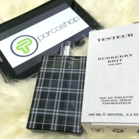 PARFUM ORIGINAL 100% TESTER+OFFICIAL BOX BURBERRY BRIT MEN