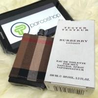Jual PARFUM ORIGINAL 100% tester+official box BURBERRY LONDON FOR MEN Murah