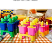 IKEA CHOSIGT Lolly Icepop Maker / Cetakan Es Loli / Ice Pop Maker