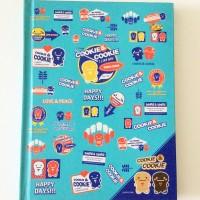 Buku Tulis Kiky Cookie & Cookie Hard Cover