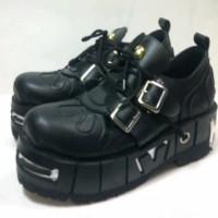 harga Sepatu Rocker / Sepatu Rock / Underground/ Punk Rock boot Mr Beam GGS Tokopedia.com