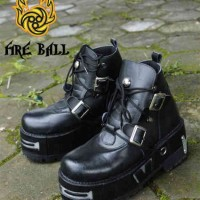 harga Sepatu Rocker / Sepatu Rock / Underground/ New Rock Boot Mr Beam Ggs Tokopedia.com