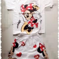 Baju Anak 1 Set / Kaos dan Celana Anak 1 Setelan Usia 3-6 Tahun