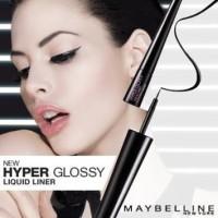 PROMO !!! Maybelline Hyper Glossy Liquid Eyeliner Black