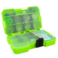 Jakemy Fishing Accessories Tool Kit with Storage Box - Green