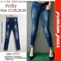 Grosir Celana Jeans / Grosir Celana Wanita / Celana Murah / PRILLY