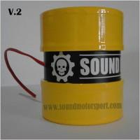 Knalpot Motor Elektrik, Knalpot Racing Elektrik, Sound Suara Moge V.2