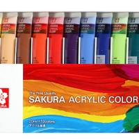 Cat Akrilik Sakura 20ml / Sakura Acrylic Colour 20ml