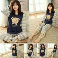 Stelan Piyama Teddy Bear