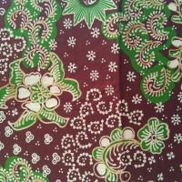 batik aisyiyah lasem warna hijau coklat
