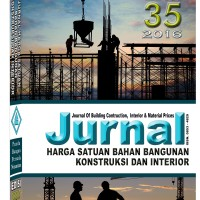 harga Jurnal Harga Satuan Bahan Bangunan Kontruksi & Interior Edisi 35-2016 Tokopedia.com