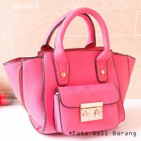 tas pesta mini kecil modis pink model hermes fashion korea elegant PU