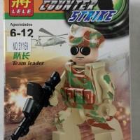 Lego Counter Strike Team Leader Lele