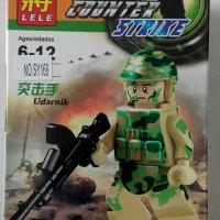 Lego Minifig Counter Strike Urdanik Lele