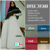 SUPPLIER HIJAB REALPICT : zivia syari by enka