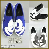 harga Sepatu Chiara Ferragni Smiley Mickey Tokopedia.com