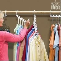 Wonder Hanger - Magic Hanger - Gantungan Baju Hemat Tempat