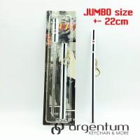 harga Keychain Gantungan Kunci Jumbo Besi Metal Pedang Sasuke Kusanagi Tokopedia.com