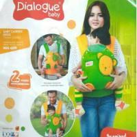 harga Gendongan Bayi Ransel Dialogue Baby Carrier Ergo Polka Series Dgg 4229 Tokopedia.com