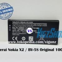 Baterai Nokia X2 / X2 Dual Sim / BV-5S Original 100%