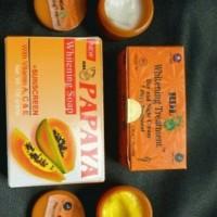 PAKET CREAM RDL WHITENING TREATMENT 7 DAYS / SIANG & MALAM+ SABUN RDL