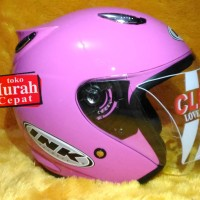 Helm basic INK CENTRO - Pink Susu - bukan KYT RETRO BOGO MDS AGV CROSS