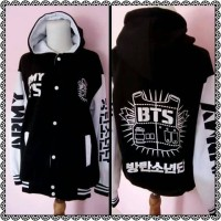 jaket/hoodie/varsity/BTS/jungkook/custom/free desain