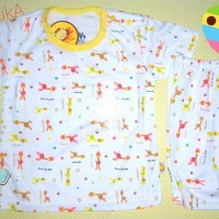 Piyama Anak / Setelan Kaos Pendek Anak Laki-laki / Perempuan