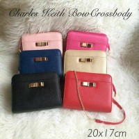 harga Charles and keith bow cross body Tokopedia.com