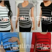 harga Baju Hamil Unik BabyPeek1 Maternity T Shirt - Juni Online Shop Tokopedia.com