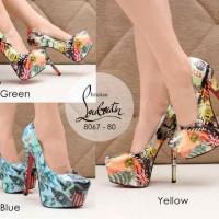 Jual High Heels Import Pump Shoes Elegan 100% REal Pic MC053 Murah