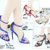 Jual High Heels Import Ankle Strap PeepToe Elegan 100% Real Pic MC056 Murah