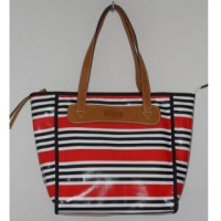 Tas Fossil Keyper Shopper Red Stripe