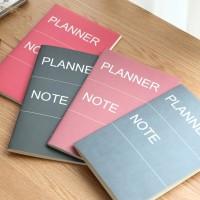 Planner Note Small / Buku Catatan Garis / Buku Tulis