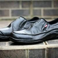 harga Sepatu Pantofel Pria Kerja Formal Kickers Slip On ( Kulit Sapi ) Tokopedia.com