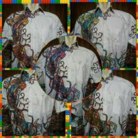 Kemeja batik gambar 2