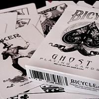 White Ghost - Bicycle Deck (Kartu)