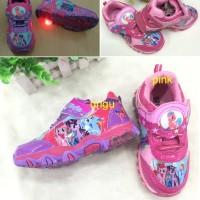 Sepatu Anak Import LED My Little Pony