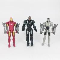 Action Figure Ironman 3pcs / Set