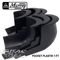 Poket Plastik 7-ft Murrey - 1 SET = 6 BH - Meja Billiard Pocket Biliar