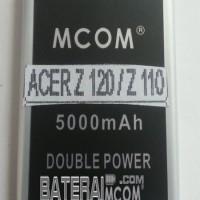 Baterai Battery Double Dobel Power Acer Z120 Z 120 Z110 Mcom 5000Mah