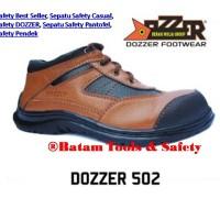 Sepatu Safety Casual Pendek Dozzer 502, LOKAL PRODUCT, ORIGINAL