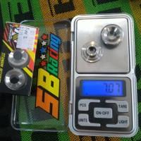 harga Retainer Kawahara Titanium Tipe2 Batang5mm Tokopedia.com