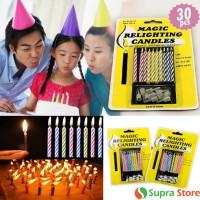 Lilin Magic / Lilin Ulang Tahun / Perlengkapan Pesta